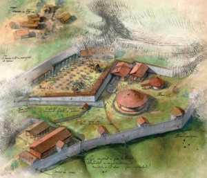 Secret city beneath Sarmisegetusa