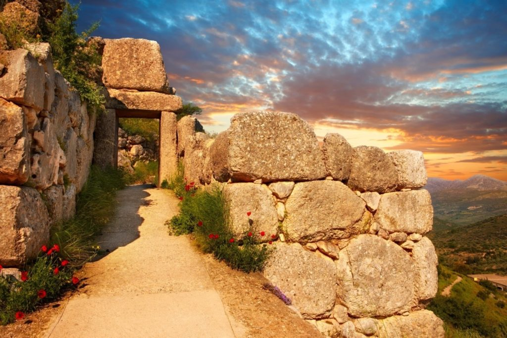Achaeans destinations outside the Aegean: Palestine