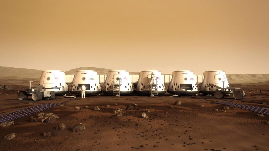 The project Mars-One - the first human colony on Mars