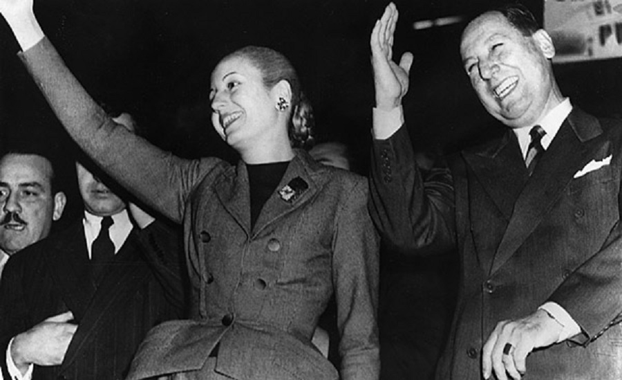 Evita and Juan Peron, between dictatorship and philanthropy