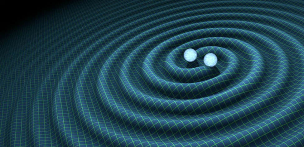 gravitational waves by the mutual orbit of two black holes
